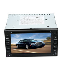 "Cheap Universal 6"" 2 Din Car DVD Player GPS Navigation Bluetooth USB SD Radio MP4 MP5 Support WIFI 3G HD Camera Parking Video Input"