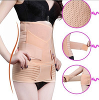 Wholesale Postpartum Recovery Belt Abdomen Stomach Elastic Pelic Sets Waist Cinchers Body Shapers Slimming Waist Belly Band Shapewear