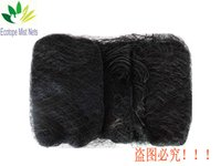 Wholesale Bird Mist Net mm mm Mesh Size Black Nylon m m pockets Well Tethered With Never Loose Shelf String Good Pockets
