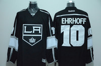 apparel los angeles - Kings Ehrhoff Hockey Jerseys New Hockey Apparel LOS ANGELES Hockey Jerseys All Teams Hockey Uniform Black Hockey Wears