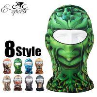 basketball face mask - Outdoor Sports Bicycle Bike Cycling Basketball Golf Ski Hood Hat Veil Balaclava Snowboard Protect Full Face Mask