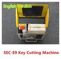 key duplicating machine - Full Automatic SEC E9 Car Key Cutting Machine No Keys Smart duplicate Key device English Version CE certificate DHL FREE