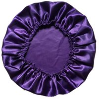 Wholesale Satin Silky Feeling Night Sleep Cap Bonnet Cap