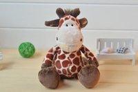 nici - Fancytrader cm Plush Stuffed Wild Friends NICI Jungle Series Giraffe Deer FT90398
