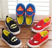 batman shoes for girls - Fun League Superman Spiderman Batman classic shoes personalized cartoon children shoes for boys and girls