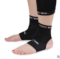 Wholesale Copper Wear Ankle Compression Sleeve Copper Wear dance fitness Ankle Support Breathable Compression Outdoor Sports Gym Protecting m