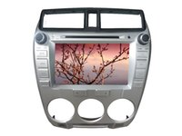 africa cities - 8 inch LCD TFT touch screen car DVD player for Honda city with GPS navigator and Bluetooth