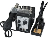 Wholesale Saike in1 Adjustable in1 Hot Air Soldering Station and Soldering Iron order lt no track
