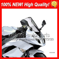 Cheap Moto Light Smoke Windscreen For YAMAHA TZR250 TZR250R TZR250SP TZR 250 TZR250 R SPR RS 89 90 1989 1990 #125 ABS Smoke Windshield Screen