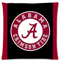 alabama case - Custom Famous alabama Fashion Style Cotton Linen Decorative Suitbale Single Pillow Case Standard Size