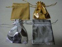 Wholesale Gold Silver cm Drawstring Organza Pouch Bag Jewelry Bag Christmas Wedding Gift Bag
