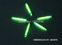 Wholesale High Quality Chemical Fishing Lights Fishing Rod Tip Float Fish Bobber in Green Colour Glow Stick