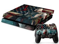 assassins creed stickers - Cool Assassins Creed PS4 Decals PS4 Skin Vinyl Stickers Console Skin Controller Stickers