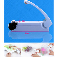 Wholesale Hot Sales Mini Vacuum Food Plastic Bag Impluse Sealer Handheld Tool Portable Metal C367