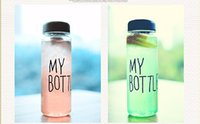 Wholesale 2015 ml Fashion sport My bottle lemon juice readily cup space cup water bottles yearhappy
