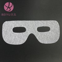 absorbent paper sheets - Round edge eyes film paper silk ultra thin super absorbent cloth mask mask HZ165