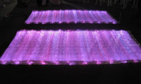 Wholesale hightec colors changeable light up fiber optic fabric cm to make clothes material color white
