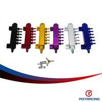 Aluminum Turbo Wastegate Bosst aluminum manifold - PQY RACING Aluminum Turbo Wastegate Bosst Vacuum Intake Manifold Port NPT PQY6987