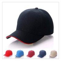 Wholesale Customized Baseball caps LOGO Embroidery advertisement hats snapback baseball cap Peaked hat