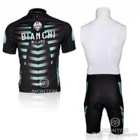 cycling jersey wholesale - 2014 cool style cycling skinsuit Bianchi team cycling jersey black england cycling jersey good quality C00S