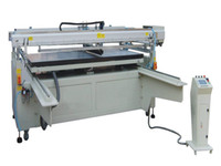 area printing machines - Four Column Big Area Screen Printing Machine with Sliding Table Flat screen printing machine Semi automatic flat screen printing mach