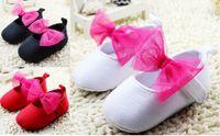 Wholesale 2015 kids soft bottom cotton toddler shoes CM CM CM newborn bow indoor single shoes Casual shoes pair cl