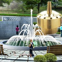 Wholesale 1 quot DN15 Brass Fireworks Fountain Nozzle Sprinkler Spray Head Pond greenhouse