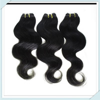 Wholesale Cheap Brazilian Virgin Hair Body Wave Straight g pc Unprocessed Brazilian Human Hair Weave Bundles Brazilian Body Wave Hair Can be dyed