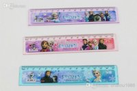 Wholesale 2014 new Back to school Frozen Anna Elsa Cute cartoon ruler cm straight ruler students gift frozenC67