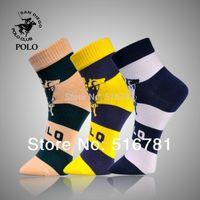 designer socks - 2014 Designer Pair New Men s Socks Cotton Five Colors Srop Shipping Weekly Socks Striped Socks PL1119