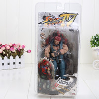 akuma street fighter - NECA Player Select Street Fighter IV Survival Model Gouki Akuma Action Figure Toy Doll