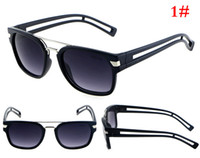 sunglasses lot - Police Sunglasses UVA UVB400 Protection Goggles Resin Lens Sports Colors Eyewear Women Sun Glass per DHL