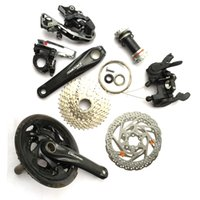 Wholesale 2016 New Bike Derailleurs Good Quality Alloy Bike Front and Rear Derailleurs Speed Gears Derailleurs Bicycle Parts on Sale