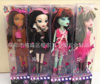 Girls barbies dolls - Girls Monster High Barbie Dolls Monster Toys Dolls for Children Fashion Dolls Classic Toys Birthday Gifts cm