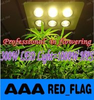 Wholesale 300W COB LED grow light W HPS Professional in flowering More condenser More light More energy efficient LLFA100F