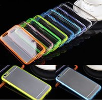Wholesale Apple iPhone Plus Case Slim Transparent Crystal Clear Hard TPU Back Cover For iPhone Plus iPhone6 quot quot pc
