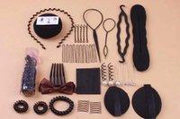 Wholesale Japan and South Korea jewelry headgear is set up hair suit meatball head tool combination