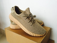 Wholesale 2016 Factory Outlets Oxford Tan Boost Turtle Dove Grey Outdoor Sport Shoes Pirate Black Kanye Shoes Moonrock Unisex