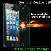 Wholesale For Htc Desire Tempered Glass Screen Protector Film For Htc Desire Htc Desire Htc