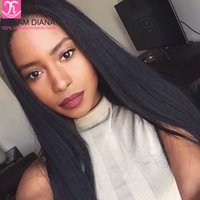 ai hair - 8A Lace Frontal Closure With Baby Hair Strght Brazilian Virgin Hair x4 Ear To Ear Swiss Net With Full Lace Frontal Closure ai queen hair
