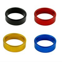 Wholesale 10 mm Aluminum Mountain Road Bike Bicycle Cycling Headset Stem Spacer High Quality Bike Parts Accessories Colors