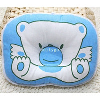 baby pillow infant - Best Quality Soft Newborn Baby Infant Prevent Flat Head Shape Support Sleeping Positioner Pillow Fx304 Freeshipping