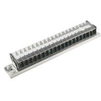 Wholesale x V A AlumInum Rail Base Position Screw TermInal Barrier Strip order lt no track