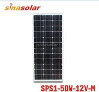 No solar module - 50W V Module Monocrystalline Solar Panel