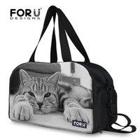 Wholesale Brand D animal cat face yoga bag for women cute ladies gym tote bag exercise yoga bag for yoga mat multifunction
