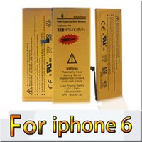 Wholesale Top Quality Replacement Battery For Iphone Iphone Li ion Bullit in Internal Battery Full Capacity charge Tested Battery Gold Label