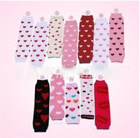 best crochet patterns - best selling new Spring Baby Heart Pattern baby leg warmer Kneepad Boot Crochet Legs Warmers Leg Warmers Boot Warm Chiffon Socks