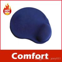 Wholesale Wrist Comfort Mice Pad Mat Mousepad for Optical Mouse