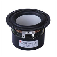 aluminum cone speakers - Audio Labs High Performance Bass Speaker Pair Aluminum Cone ohm W D89mm Shielded
