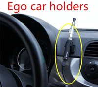 acrylic based adhesive - Acrylic e cig display ego car driving holder E Cigarette Holder with Adhesive tape mm for ego t evod battery ecig stand base vs cotton